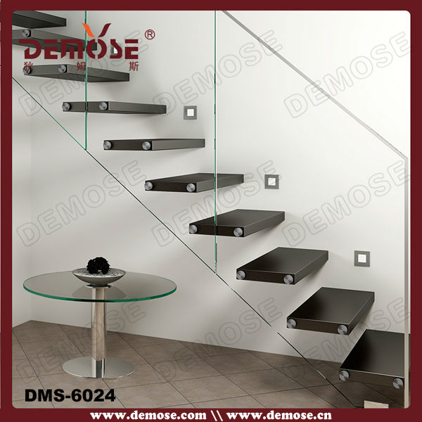 Hidden Wood Stair Stringer Glass Stairs Price Glass Cinderella | Glass For Stairs Price | Glass Handrail | Solid Oak | Outdoor | Metal | Glass Panel