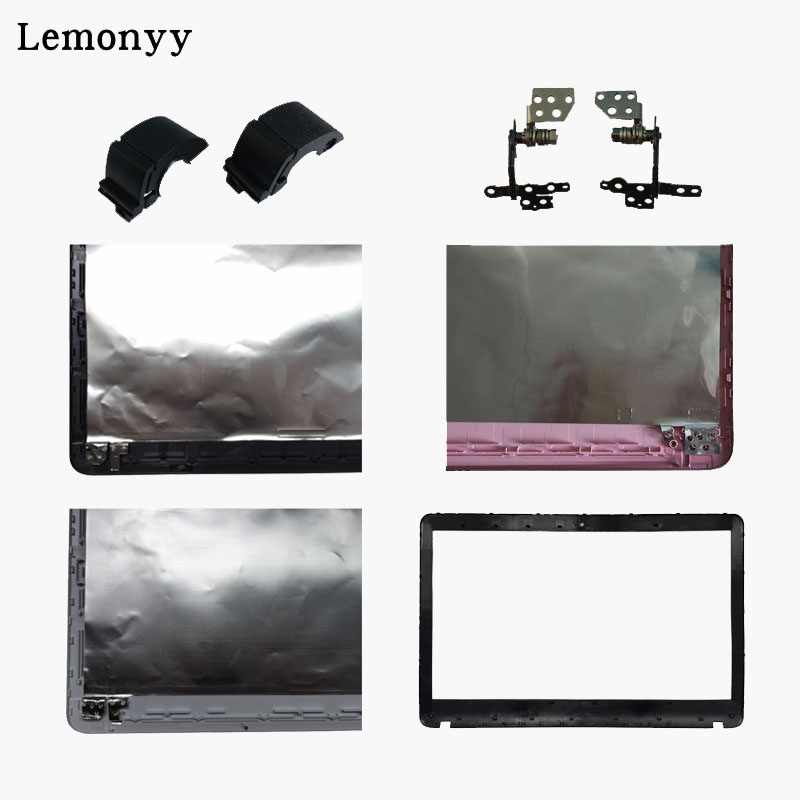 For SONY VAIO SVF152C29V SVF153A1QT SVF152100C SVF1521Q1RW LCD TOP Cover/LCD Front Bezel No Touch/Hinges/Hinges Cover