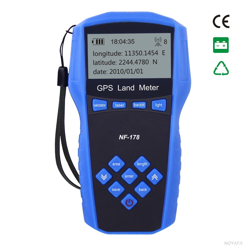 Hot Sale Professional Handheld GPS Test Devices High Precision Land Measuring Instrument NF-178 High Quality Measuring Meter precision devices pd1550 1 шт