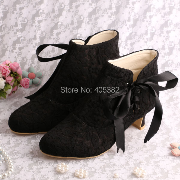Wedopus Hot Ing New 2016 Winter Women Ankle Short Beige Low Square Heel Boot Wedding Bridal In Boots From Shoes On Aliexpress Alibaba Group