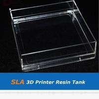 SLA 3D Printer Parts Acrylic Resin Tank For CTC Form1 Form1+ SLA 3D Printer