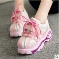 Niza Marca Primavera/Otoño Clásico Plataforma High Top Zapatos Planos Ocasionales Aumento de la Altura Zapatillas Mujer Nueva Llegada