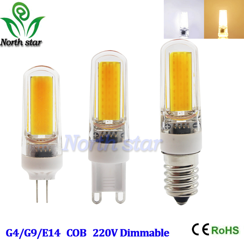 Mini G4 G9 E14 LED Lamp COB LED Bulb 3W 6W 9W DC/AC 12V 220V LED ...