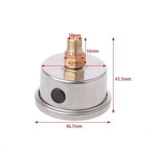 Image 5 - 有用な燃料圧力レギュレータゲージ 0 160 Psi/バー液体充填クローム燃料油ゲージ