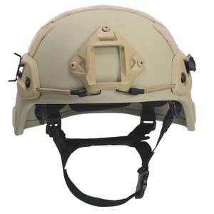 Image 4 - Paintball airsoft balístico capacetes de proteção mich 2000 nij iiia aramid cabeça à prova de balas capacete proteção para a caça airsoft