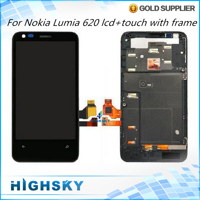 Replacement LCD Display For Nokia Lumia 620 With Touch Screen Digitizer + Frame Assembly 1 Piece Free Shipping п м волцит м в собе панек как это летает самолёт и ракета