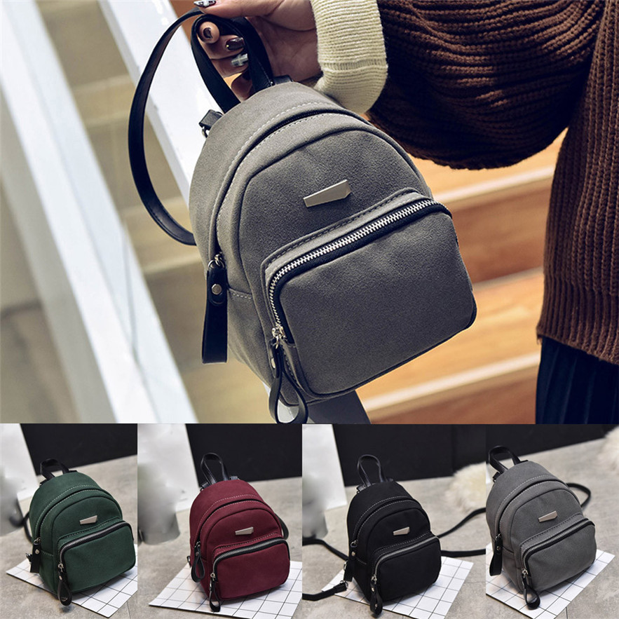 6820744d69 OCARDIAN mochila Women Fashion Casual Ladies Candy School Style Solid  Student Mini Backpack Made in China Casual  30 Gift-in Backpacks from  Luggage   Bags ...