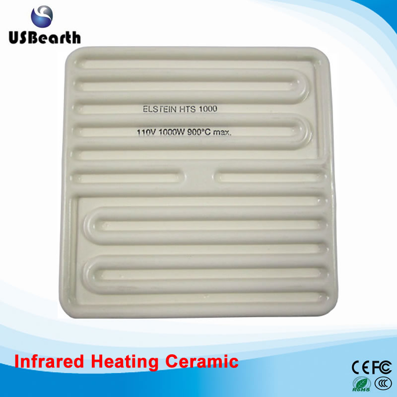 Plate Heat Exchanger IR9000 Top Ceramic Heating Plate 250W for BGA Rework Station 110V/220V Optional 220v 95x110mm 50 250w pet ceramic emitter heated plate appliance reptile poultry heating breeding light bulb for e27 lamp holder
