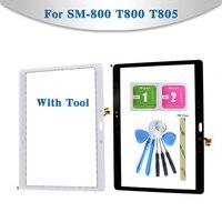 """10 5 """"Für Samsung Galaxy Tab S 10 5 LTE SM 800 T800 T805 Tablet Touchscreen Digitizer Sensor Front Äußere Glas objektiv Panel-in Tablett-LCDs und -Paneele aus Computer und Büro bei"""