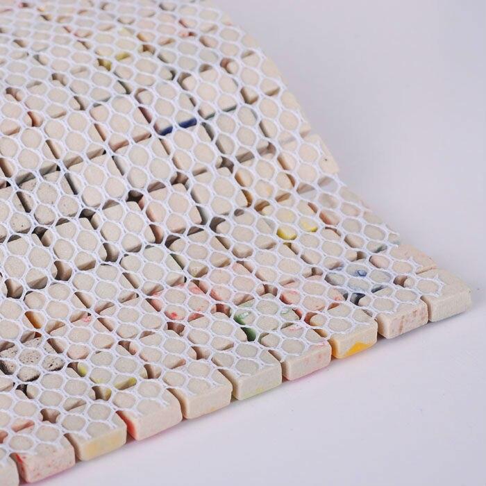 Ceramic Tile Sheets Square Iridescent