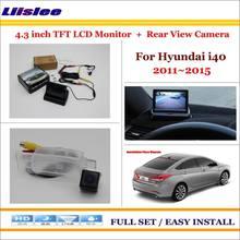 Автомобильная камера для hyundai i40 2011 2015 заднего вида