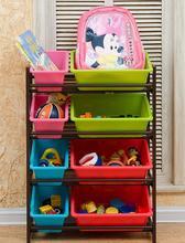 Детские игрушки отделочные стеллаж для хранения стеллажи складские стеллажные детские детские игрушки ящик для хранения полки