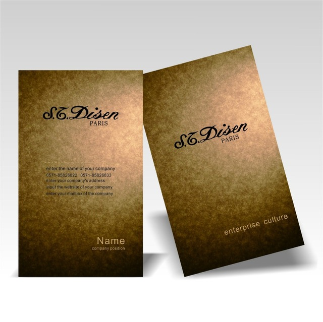 High quality customized kraft paper business cards printing hot high quality customized kraft paper business cards printing hot black stamping new design brown tarjetas de reheart Images