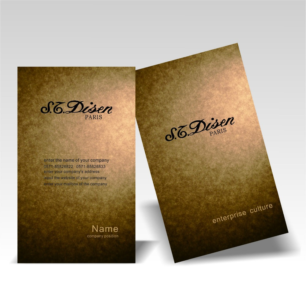 Buy kraft paper business cards printing and get free shipping on ...