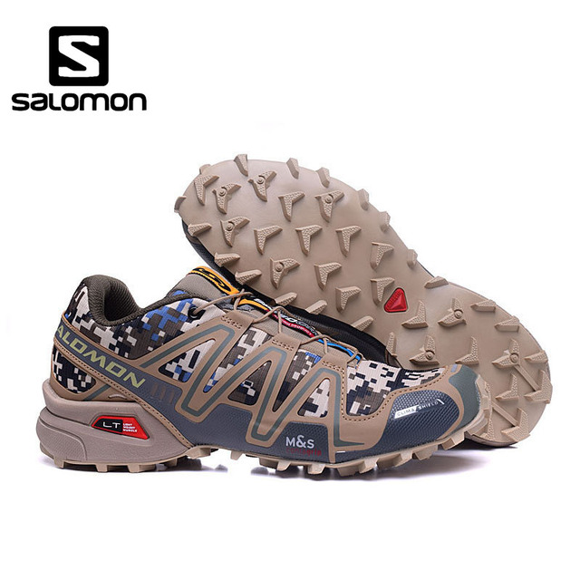 bas prix 44aa0 cfd7e US $36.12 49% OFF Aliexpress.com : Buy Salomon Speedcross 3 CS Zapatillas  Running Sport Men Outdoor Shoes Breathable Breathable Athletics size 40 46  ...