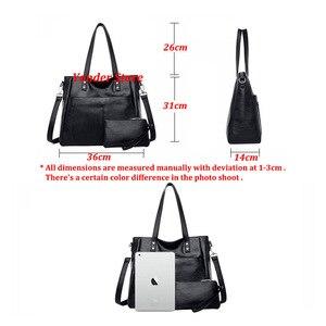 Image 5 - Yonder brand women bag genuine leather handbag ladies large tote bag high quality Sheepskin leather shoulder bag female Red Wine