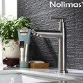 Bad Baisn Wasserhahn SUS 304 Edelstahl Gebürstet Wc Wasserhahn Keramik Platte Spool Becken Mischbatterie Mit Einzigen Kalten Tap