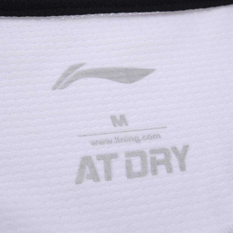(Break Code) li-Ning Mannen Op Droog Badminton Shirts Ademend T-shirts Concurrentie Comfort Voering Li Ning Sport Tee AAYM075 MTS2673