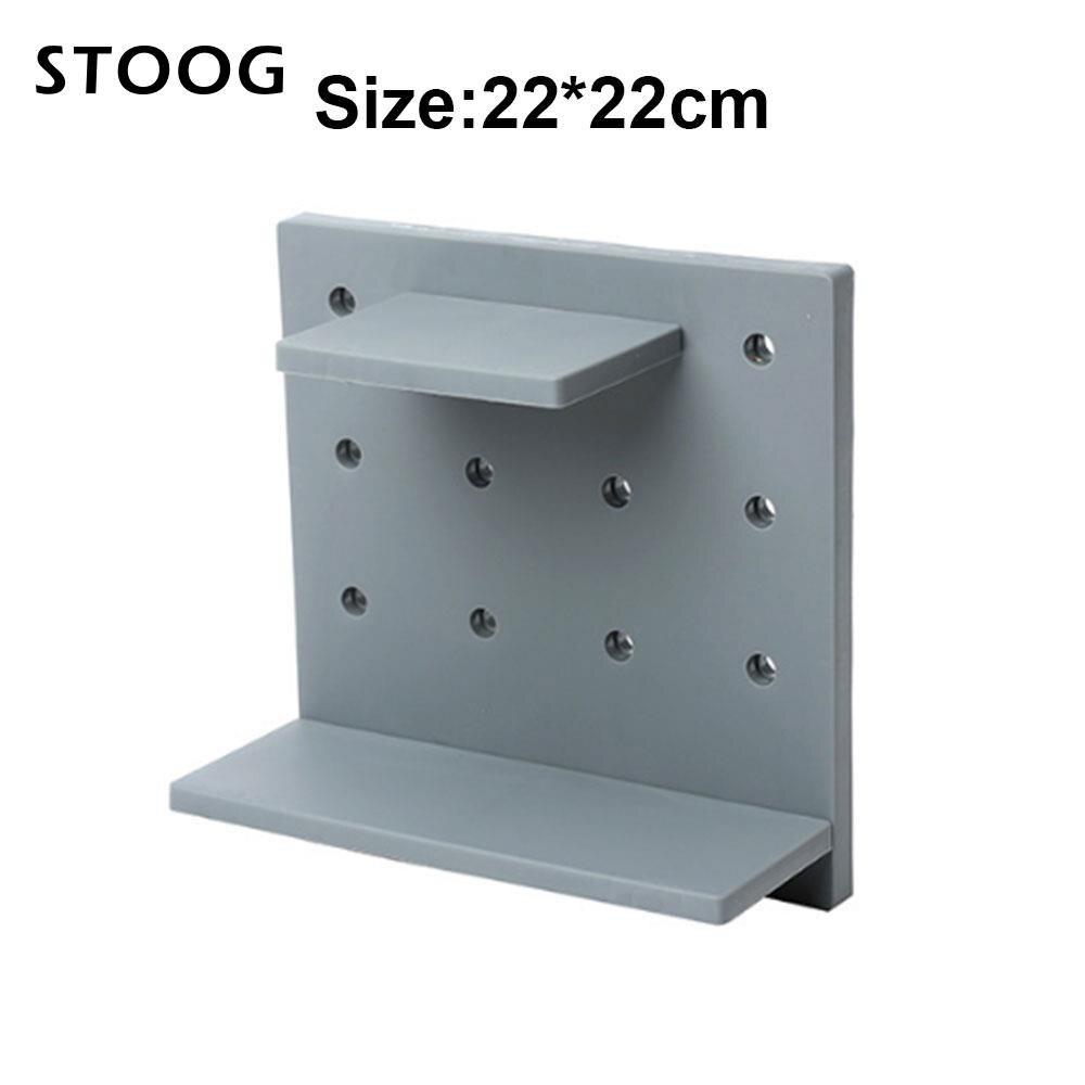 Storage Holder Plastic Organizer Economic Storage Shelves Bathroom ...