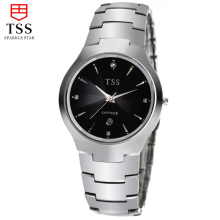 TSS lover couple series tungsten steel watch Korean fashion trend men 's automatic male watch waterproof men' s leisure business