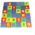 50 sets los Corralitos Para Bebés juguetes para niños Puzzle de Juguetes Educativos Entre lockin Alfabeto Numeral Estera EC1128