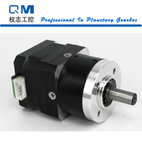 Nema 17 Gear Stepper Motor 26mm Nema 17 Planetary Reduction Gearbox Ratio 10:1 15 Arcmin cnc robot pump