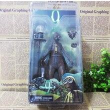 original high quality NECA anime Tim Burton 9 nine Moving Model PVC Action Figure Toys 7 inch For Boys children