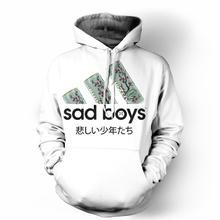 9b433bdf8 Thương hiệu Áo Sweatshirt 2019 Buồn Chàng Trai Tình Yêu Arizona Trà 3D In  Trùm Đầu Hoody Thể Thao Giản Dị Hoodies Dropship