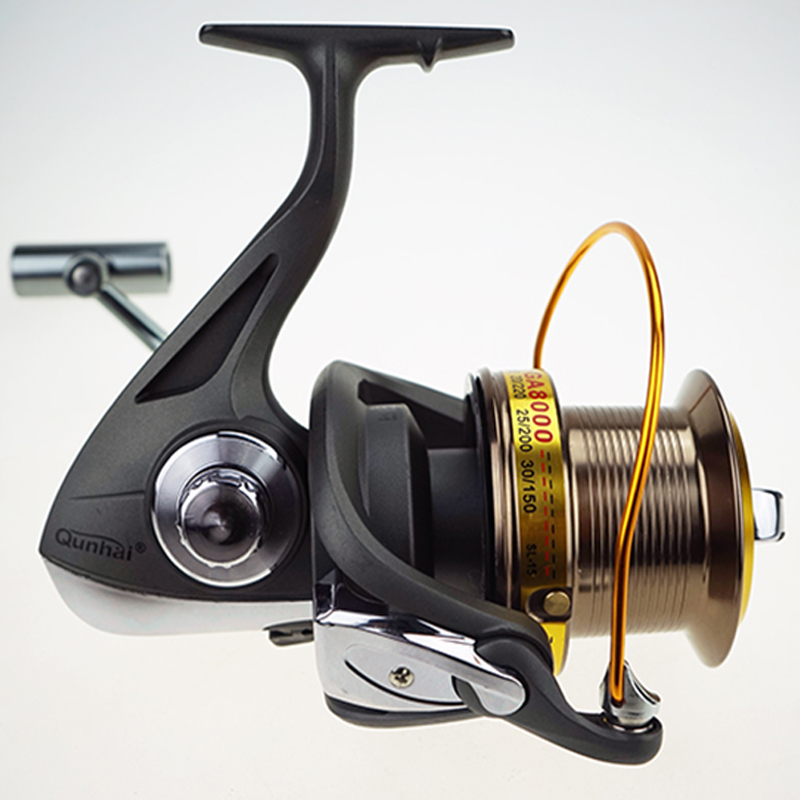 General Big Fishing Spinning Reel 8000 - 11000 11+1BB Saltwater Upscale Boutique Spinning Reel Fishing Reels lawaia 11 axis drop round saltwater fishing reels big games speed ratio 6 3 1 cup capacity 2 210 carp fishing reel fish vessel