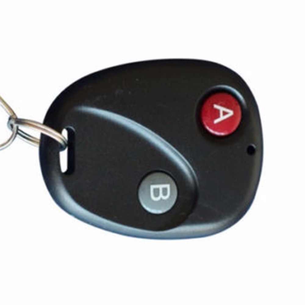 Mini transmisor de Control remoto inalámbrico RF 315 MHz/433 MHz interruptor para timbre de coche llave de la puerta de la cadena