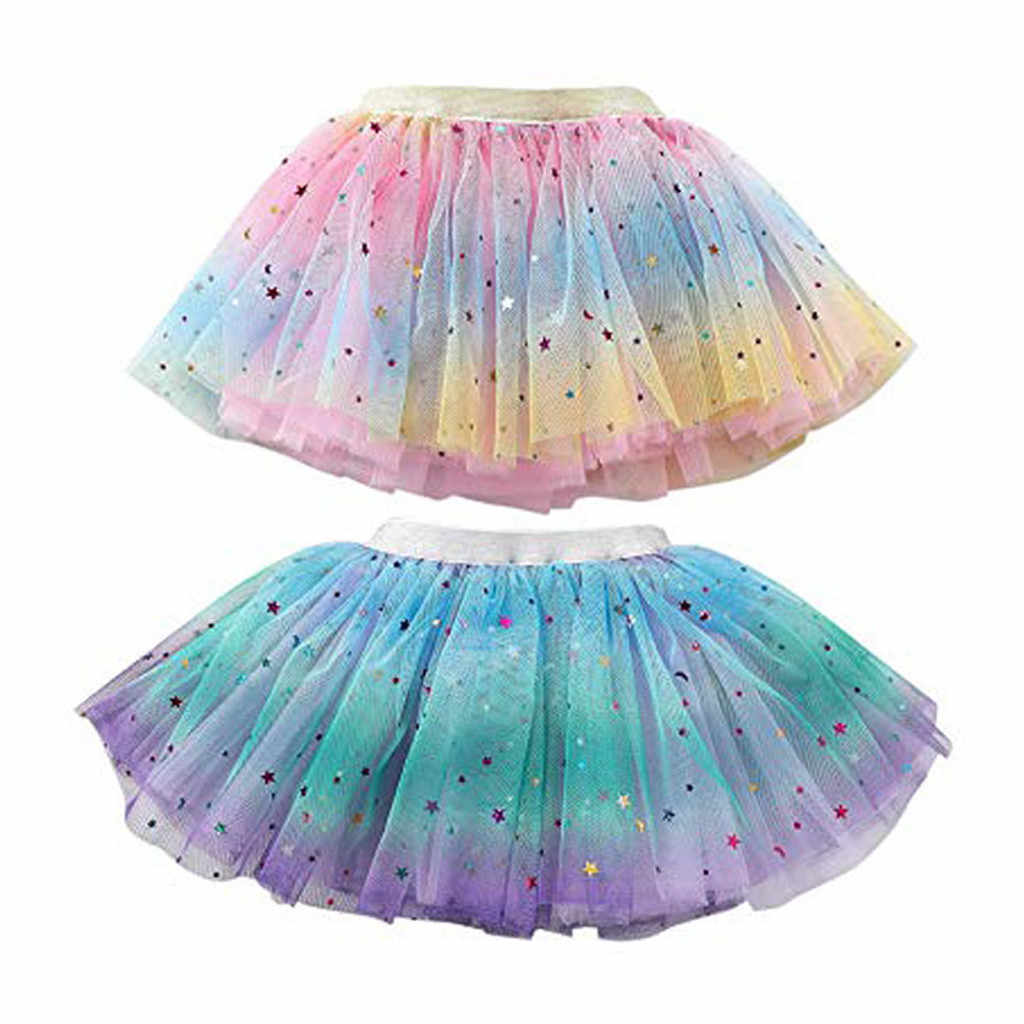 Chico s bebé niña princesa vestido damas chico chica enagua Arco Iris vestido Bowknot falda Tutu Tullue ropa