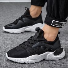 GUDERIAN Brand Men Casual Shoes 2019 Sneakers Breathable Spring Autumn Lace-Up Walking Footwear Turnschuhe