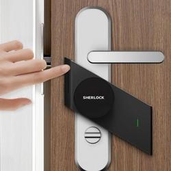 Шерлок S2 Smart замка двери дома без ключа отпечатков пальцев замок + пароль работы для электронных замок Беспроводной приложение Bluetooth