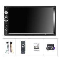 Car Stereo MP5 Autoradio Mirror Link DVR BT/USB/TF/FM Camera 2Din Car Radio 7 Multimedia Player Touch Screen Auto audio