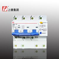 Group on small residual current protection switch/circuit breaker DZ47LE 100 3P+N 100A integrated