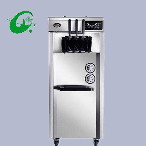 Machine molle verticale de crème glacée d'arc-en-ciel de fabricant de fabrication de crème glacée molle commerciale de 16 ~ 22L/H avec la confiture