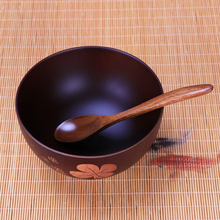 Handmade Baby Dishes Wood Bowl
