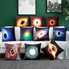 Black hole Cushion Cover Bohemian Pillow Case Home Decorative Stellar pillowcase For Car Decoration