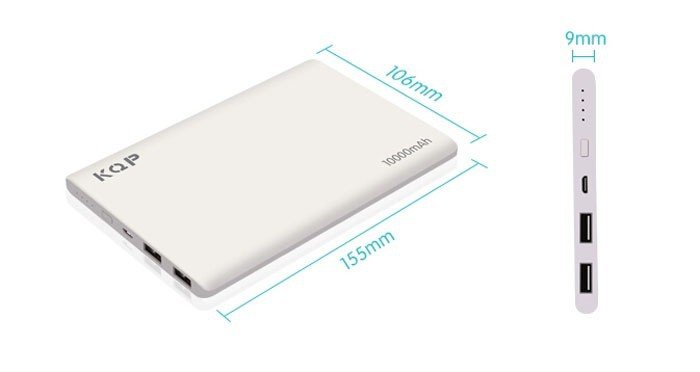 slim power bank 10000mah original 8