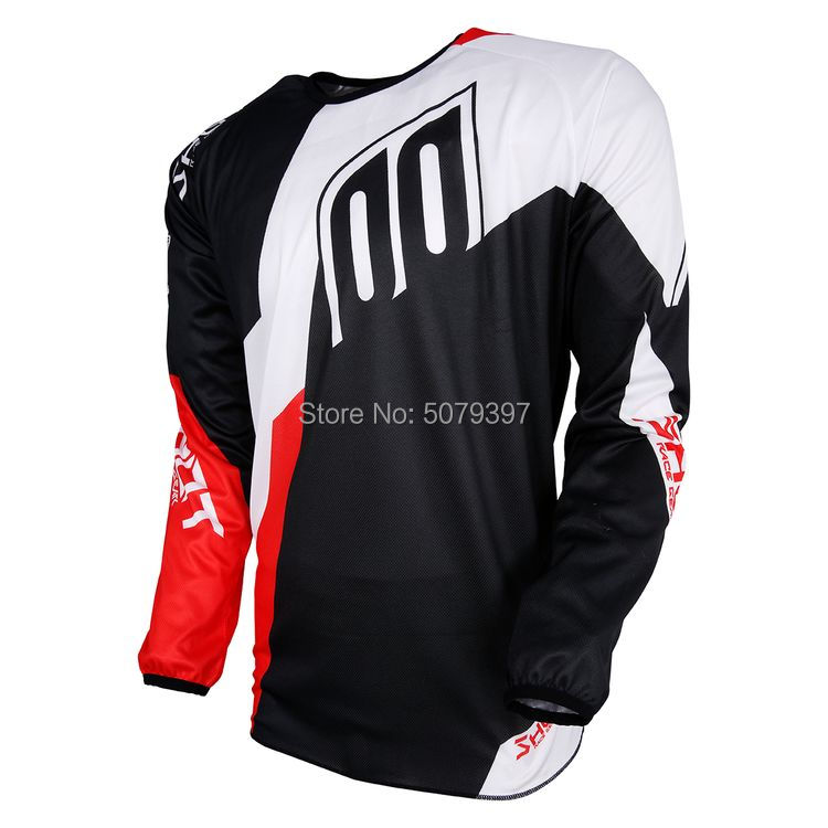 2019  mtb downhill jersey long dh moto Jersey Offroad long motorcycle MX spexcel Cycling Jersey hombre motocross bmx Tshirt(China)