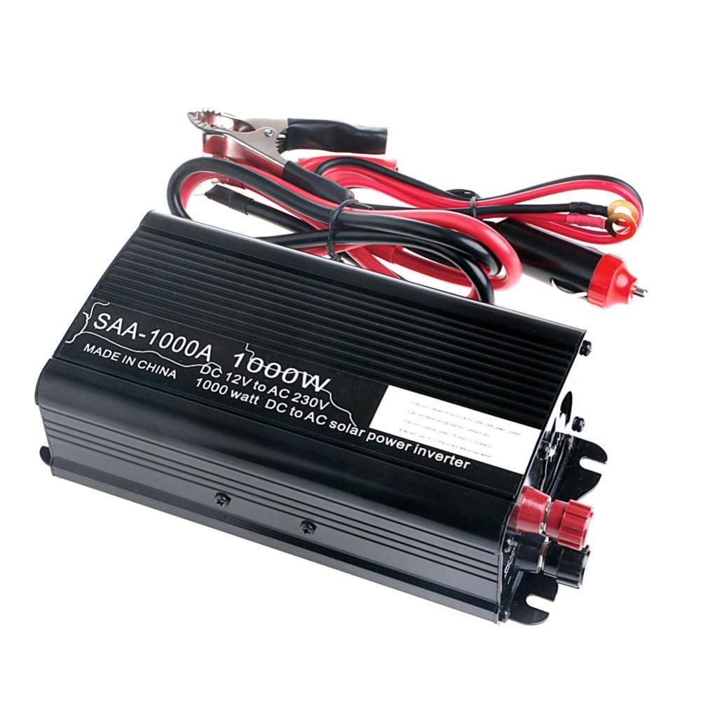 все цены на Solar Power Inverter 2000W 12V To 230V AC Modified Sine Wave Converter -Y103 онлайн