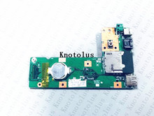 60-NXMDC1000 K52JR REV2.2 For ASUS K52 K52J K52JR K52JC K52DR X52F K52F X52J USB DC Jack Board купить недорого в Москве