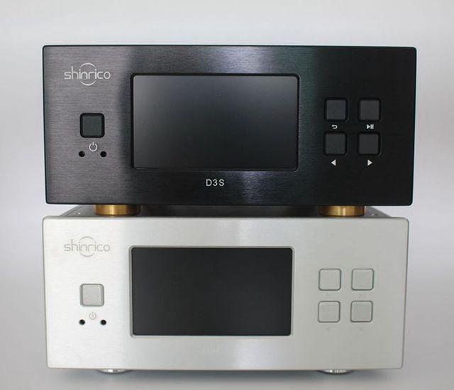 XRK shinrico D3S HI-FI home audio цифровой без потерь музыкальный плеер, поддержка до 32bit/192 КГц ape flac mp3 цифровой проигрыватель