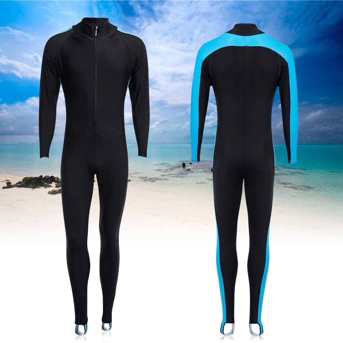 8938ed1eb8 ... 3MM Mens WetSuit S-XL Full Bodysuit Super Elasticity Diving Suit For Swimming  Surfing Snorkeling. RELATED PRODUCTS. 1x Wet Suit Unisex Waterproof Sun ...