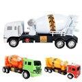 1:24 Pull Back Brinquedo Do Carro Modelo de Caminhão Betoneira Escavadoras Dumpers Veículos Diecasts Brinquedo para Meninos Cor Aleatória
