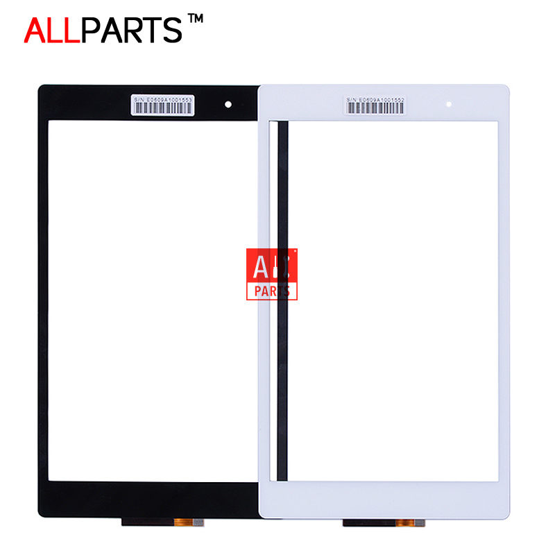ORIGINAL 8.0 Black White 10 Fingers Multitouch For SONY Xperia Z3 Tablet Compact Touch Screen Digitizer SGP612 SGP621 SGP641
