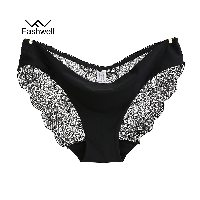 Hot Sale Women's Sexy Lace Panties Low Rise Seamless Traceless Sexy lingeri..