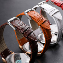 Genuine Leather Watchband Men Women Watch Band 18mm 20mm 16mm 22mm 14mm 12mm Wrist Watches Strap On Belt Watchbands Metal Buckle стоимость