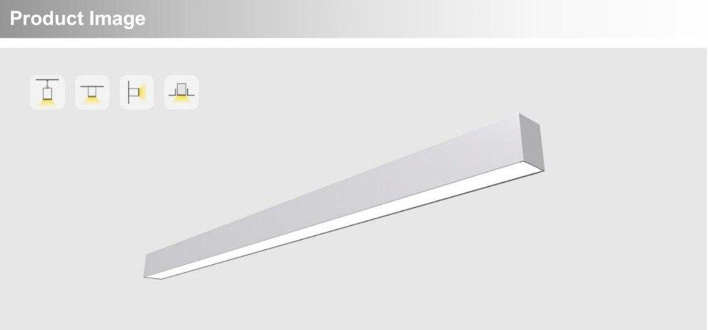 IP40 seamless acopláveis lâmpada linha 30 w