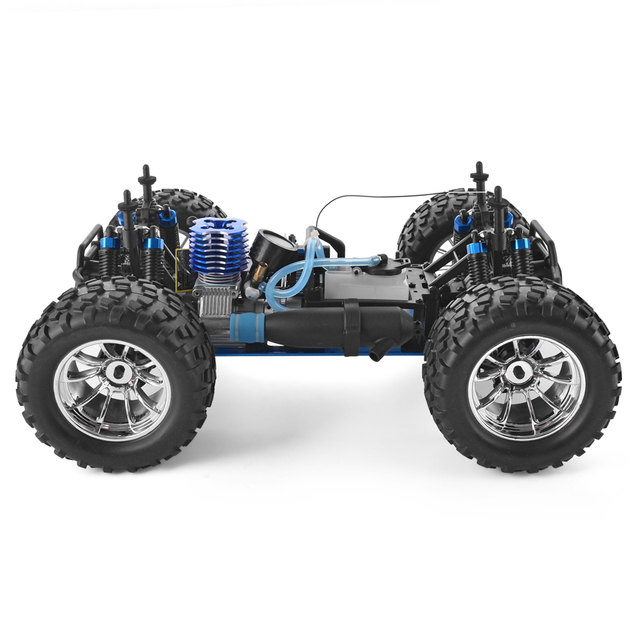 HSP RC Truck 1:10 Scale Nitro Gas Power Hobby Car Two Speed Off Road Monster Truck 94108 4wd High Speed Hobby Remote Control Car 4